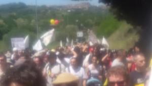 Marcia per il reddito di cittadinanza Perugia-Assisi 2015